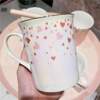 Instagram北歐鐳射珍珠釉馬克杯