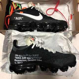 Off White x Nike Vapormax