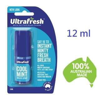 現貨 澳洲 口腔芳香劑 清新劑 薄荷口味 Ultrafresh Coolmint Breath Freshener