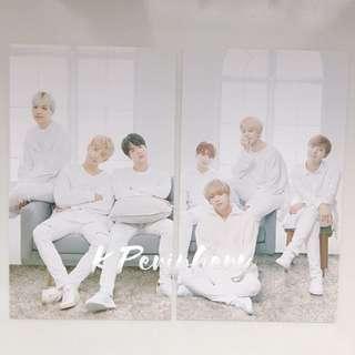 BTS X Mediheal Photocard