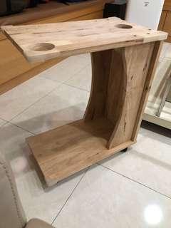 床旁桌(輪子)