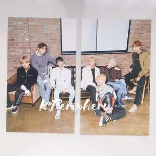 BTS X Mediheal Photocards