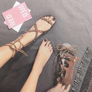 Bohemian strap sandal