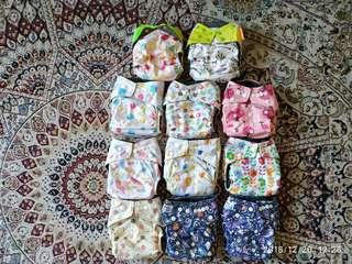 Cloth diaper (happy flute & baby land)
