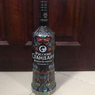 Limited edition Russian standard vodka