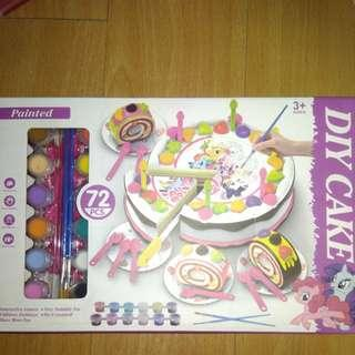 BRANDNEW MY LITTLE PONY DIY CAKE TOY PAINTING SET