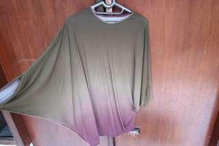 kaos batwing ombre