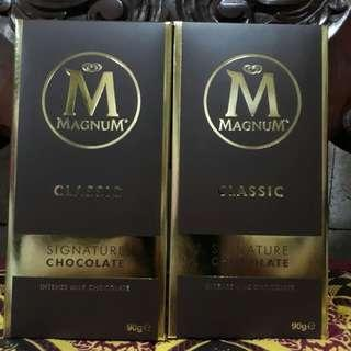 MAGNUM MILK CHOCOLATE