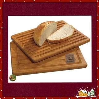 Flip-It Bamboo Cutting and Bread Board / American Style