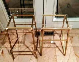 2 Acrylic bar stools