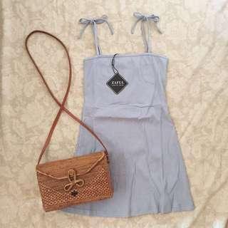 ZAFUL self tie dress