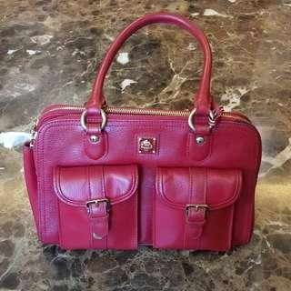 TOCO TOSCANO Hand Bag Cherry Red