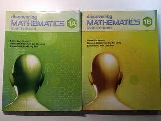 Discovering mathematics (2nd edition) 1A/1B textbooks