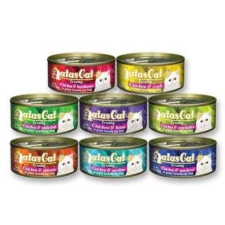 AATAS CAT CREAMY CHICKEN SERIES CANNED CAT FOOD 80G