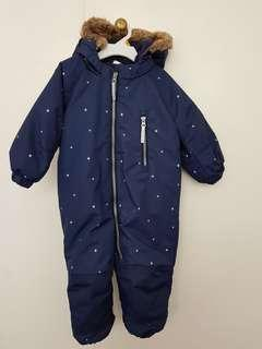 Baby Padded Snow suit