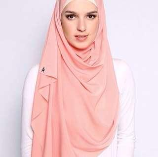 Duck Mixed Crepe in Blush (Free Postage)