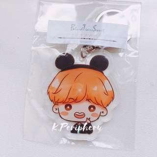 BTS Fanart Acrylic Keychain by Moyashi95
