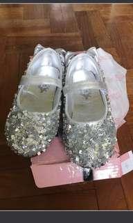 Girl Shiny Shoes