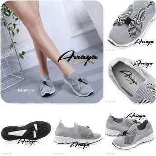 Arraya Ribbon Sneakers Shoes HDLAR145B*
