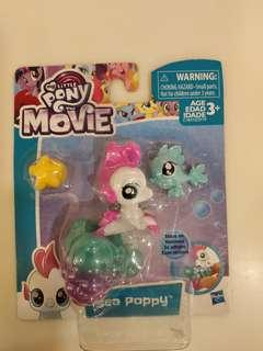 🚚 Brand New My Little Pony Movie Cute Sea Poppy With Suction. Can Stick On Glass Surface/Mirror. See All Pics.