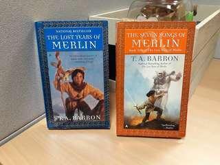 T.A. Barron The Lost Years of Merlin, Seven Songs of Merlin