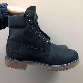 TIMBERLAND VINTAGE MEN Brown Leather Ankle Desert Boots Vibram UK7 EU41 US7.5W