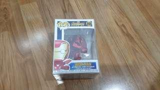 Funko Iron Man red chrome