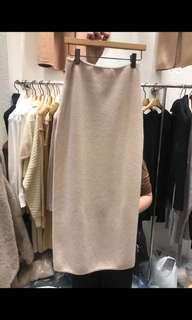 韓 Zora 購入 羊毛針織裙