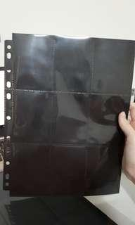 WTS Photocard Binder Pages