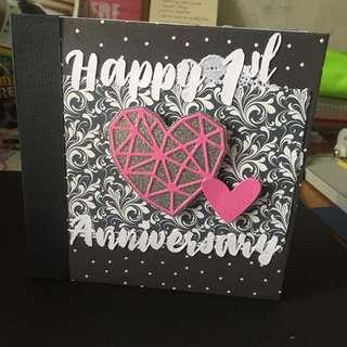 Customised 6 Inches Mini Album for Anniversary