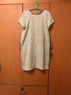 Mango gray dress