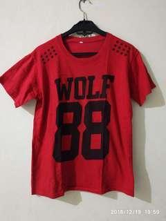 Kaos harian wolf cwo/cwe