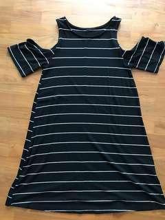 GB-Korean off-shoulder dress