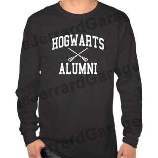 Hogwarts Alumni Harry Potter Long Sleeve T-Shirt