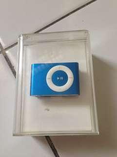 blue iPod shuffle 2nd generation 1 GB