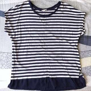 ESPRIT Striped Blouse 橫紋上衣