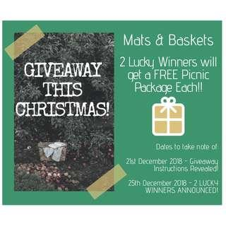 FREE PICNIC PACKAGE GIVEAWAY