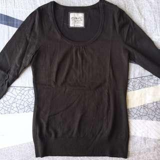 ESPRIT Black Sweater 黑色冷衫/毛衣