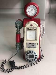 Telephone display