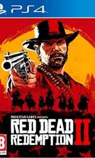 PS4 red dead redemption2
