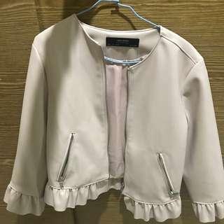 🚚 全新!Zara 皮革外套