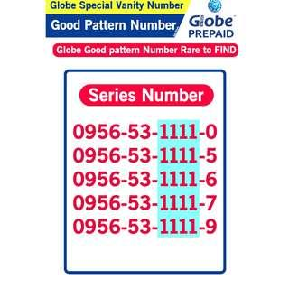 Globe Sim Special Vanity Number Good patter Number B1