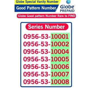 Globe Sim Special Vanity Number Good patter Number B2
