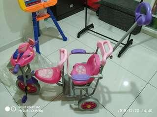 Tricycle for toddler (2-seaters)