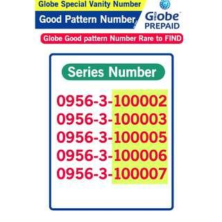 Globe Sim Special Vanity Number Good patter Number B3