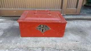 🚚 早期現金保險盒,古董級