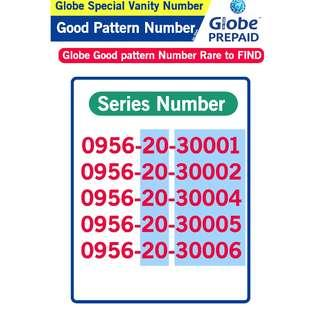 Globe Sim Special Vanity Number Good patter Number B5
