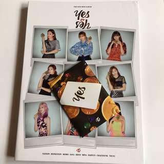 WTS TWICE YES OR YES UNSEALED ALBUM