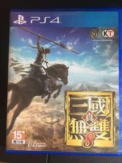 PS4 三國無雙8 中英文版