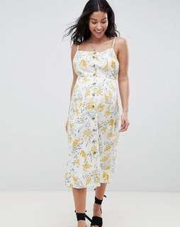 Maternity summer floral dress RRP $89